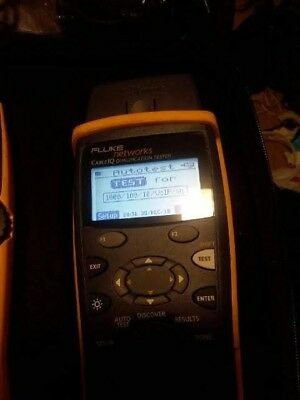 Fluke Network Cable Tester