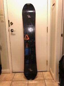 162 Rome White Room Splitboard + G3 Skins