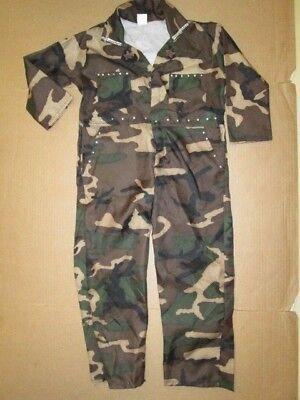 Army Girls Costume (Girls CAMO JEWELED ARMY FATIGUES UNIFORM  Halloween Costume sz 6 -)