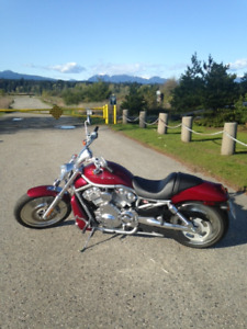 2004 Harley Davidson VRSC, V-Rod,only 1125 kms,1150 cc,Red,