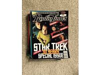 Radio Times - 50 issues including STAR TREK 30 years special