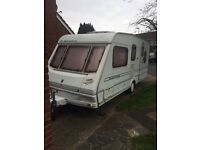 2001 abbey expression 5 berth caravan