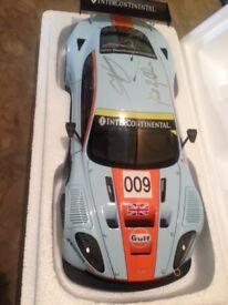 Brabham ,Turner and Garcia signed DBR9 car model