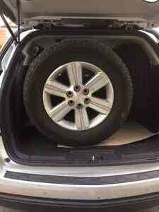 """Rims for Chevrolet Traverse 18"""" perfects for winter tires"""