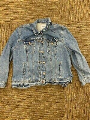 Old Navy Denim Jacket Size XXL