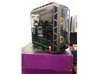 Watercooled GAMING PC SYSTEM *Intle i7 8700k* 32GB DDR4 RAM --11GB GTX1080Ti-- WARRANTY