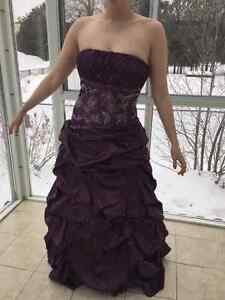 Robe de bal de graduation / Ball gown for graduation