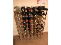 Wine rack 54 bottles