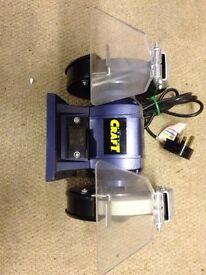Twin wheel bench grinder 240volts
