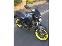 2016 ABS Yamaha MT-07 mt07 in Silver great condition + Few Extras not r6 r1