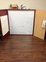 Wall Mounted Large Dry Erase Board (White Board)