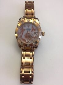 ladies Rose Gold Watch for sale - very good condition
