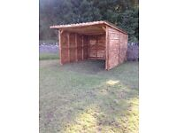 Field Shelters and Stables built to order