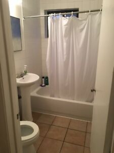 It is a nice 3,1/2 apartment for sublet if you are looking for