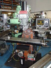 XYZ KRV PRO 2000 TWO AXIS CNC TURRET MILLING MACHINE YEAR 1996