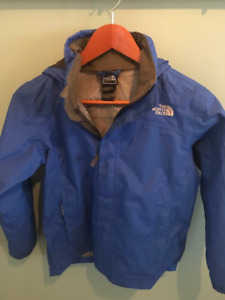 Youth Blue North Face Jacket