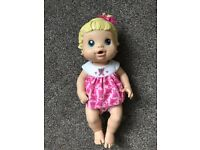 Hasbro Baby Alive better now baby doll Dolly (Worth £25 new)