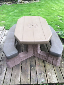 Kids picnic table by step 2