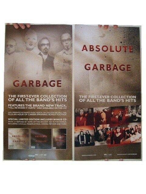 Garbage Poster 2 Sided Collection Absolute Garbage