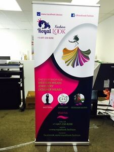 Roll Up Banner and Reretractable Banner Oakville / Halton Region Toronto (GTA) image 5