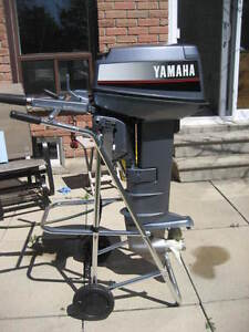 25 HP Yamaha 2 Stroke Long Shaft Outboard Motor