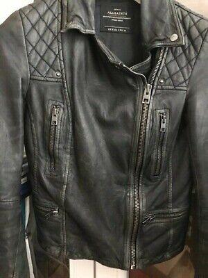 all saints cargo leather jacket