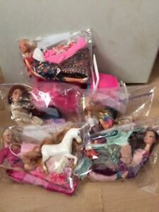 Lot of Barbie dolls, clothing and accessories