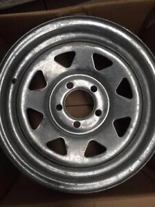"Galvanised Trailer wheels 13x5"" 0P 5x108"" Holden Torana, HD, HK Moorooka Brisbane South West Preview"