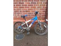 Kids Raleigh Hotrod bike age 7-9