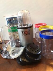 Magic Bullet With Accessories new