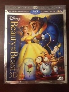 Disney's Beauty and the Beast 3D Blu-ray set