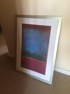 Framed Rothko print Wembley Downs Stirling Area Preview