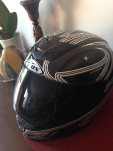 *** FULL FACE MOTORCYCLE HELMET  ***