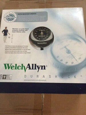 Welch Allyn Ds45-11 Gauge With Durable One Piece Adult Cuff Pocket Style New
