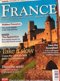 FRANCE magazines from 2002 to 2010