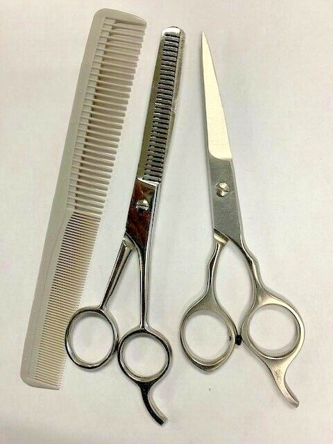 Professional Salon Hair Cutting+Thinning Scissors Barber She