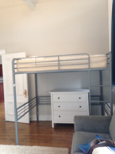 Double Loft Bed For Sale