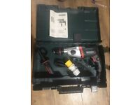 brand new metabo professional power tool 110 drill