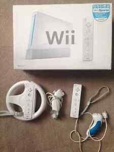 Wii Console / Wii FIT / Wii Games