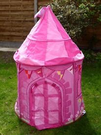 Princess and Red Car Play Tent