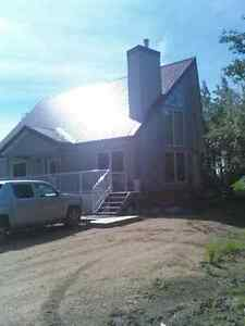 REDUCED $15,000 - A-Frame Home at Lessard Lake