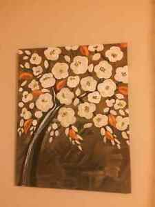 Acrylic paintings - Floral Art - $20