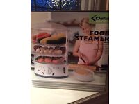 Food steam: brand new still in box