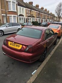 MG ZT+ for sale.