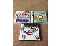 3 Games for Nintendo DS