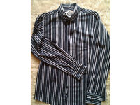 Cedarwood state black/grey striped M size
