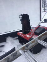 snow removal and rooftop, eavestrough cleaning