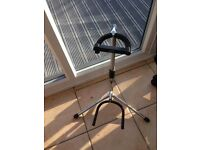 xcg chrome and black guitar stand, good condition, gibson , fender etc