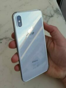 iPhone XS 256GB Silver 10/10 condition