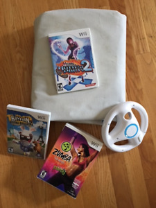 Nintendo Wii Games and Accessories, Zumba, Dance Party Etc.